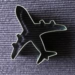 Vliegtuig - uitsteekvormpje