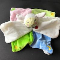 Knuffeldoekje lammetje Lotte - vanaf 0 maanden