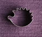 Egel - uitsteekvormpje