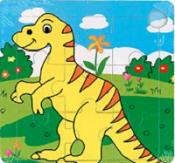 Puzzel dinosaurus