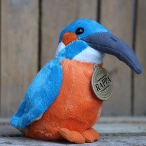ijsvogel knuffel - ca. 12 cm