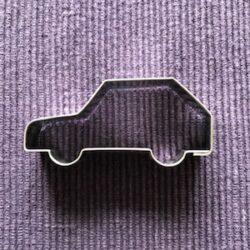 auto - uitsteekvormpje