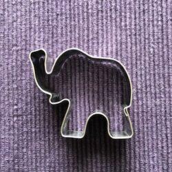 olifant - uitsteekvormpje