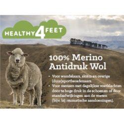 Antidruk wol, 100% merino